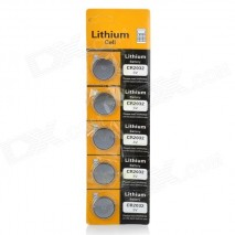 Bateria CR2032 3V (05PÇS)
