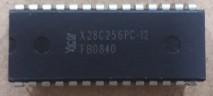 circuito in tegrado x28c256pc-12 dip 28 pinos