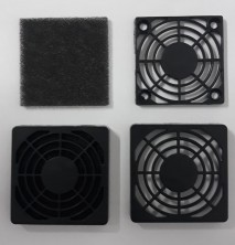 grade protetora com filtro anti poeira para cooler micro ventilador 50x50mm