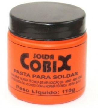 pasta para soldar cobix 110g pasta de solda pasta cobix