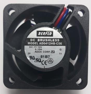 micro ventilador cooler ventoinha 40x40x20mm 12v rolamento ad0412hb-c56