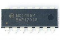 circuito integrado MC1496P dip 14 pinos