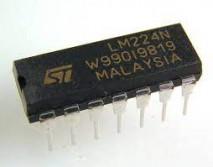 circuito integrado LM224N DIP 14 PINOS