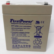 BATERIA ESTACIONARIA FP1250 12V 5AH/20Hr FIRSTPOWER RECARREGAVEL