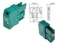 fusivel MP50 5.0A 125V Fanuc daito A60l-001-0046#5.0